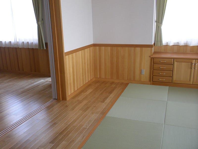 福島県・個人住宅 オーク・ユニ フローリング(セレクトグレード) 施工事例