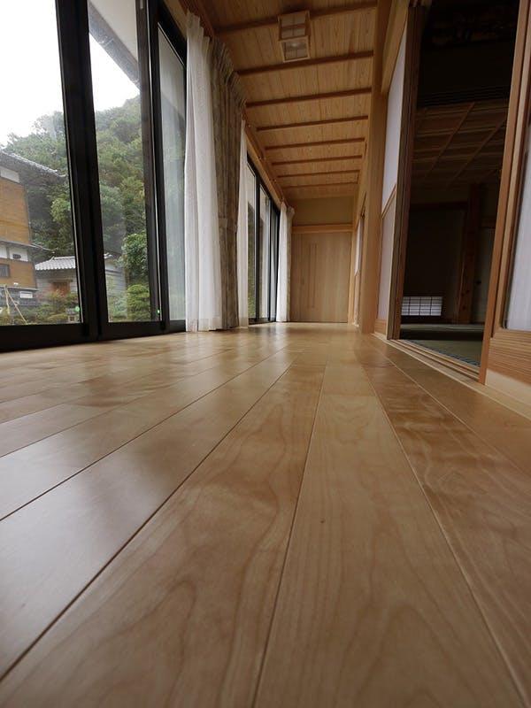 福島県・個人住宅 西南桜・ユニ フローリング(セレクトグレード) 施工事例